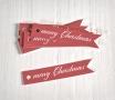 Kit of flag tags Merry Christmas