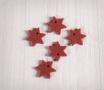 Kit de estrellas de fieltro colgantes