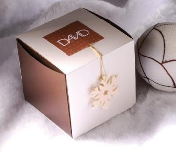 Caja con faja para Navidad