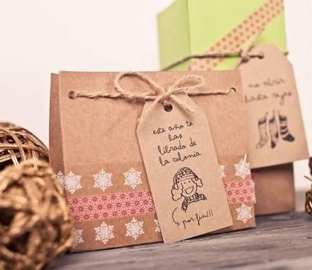 Bolsa para regalos de Navidad