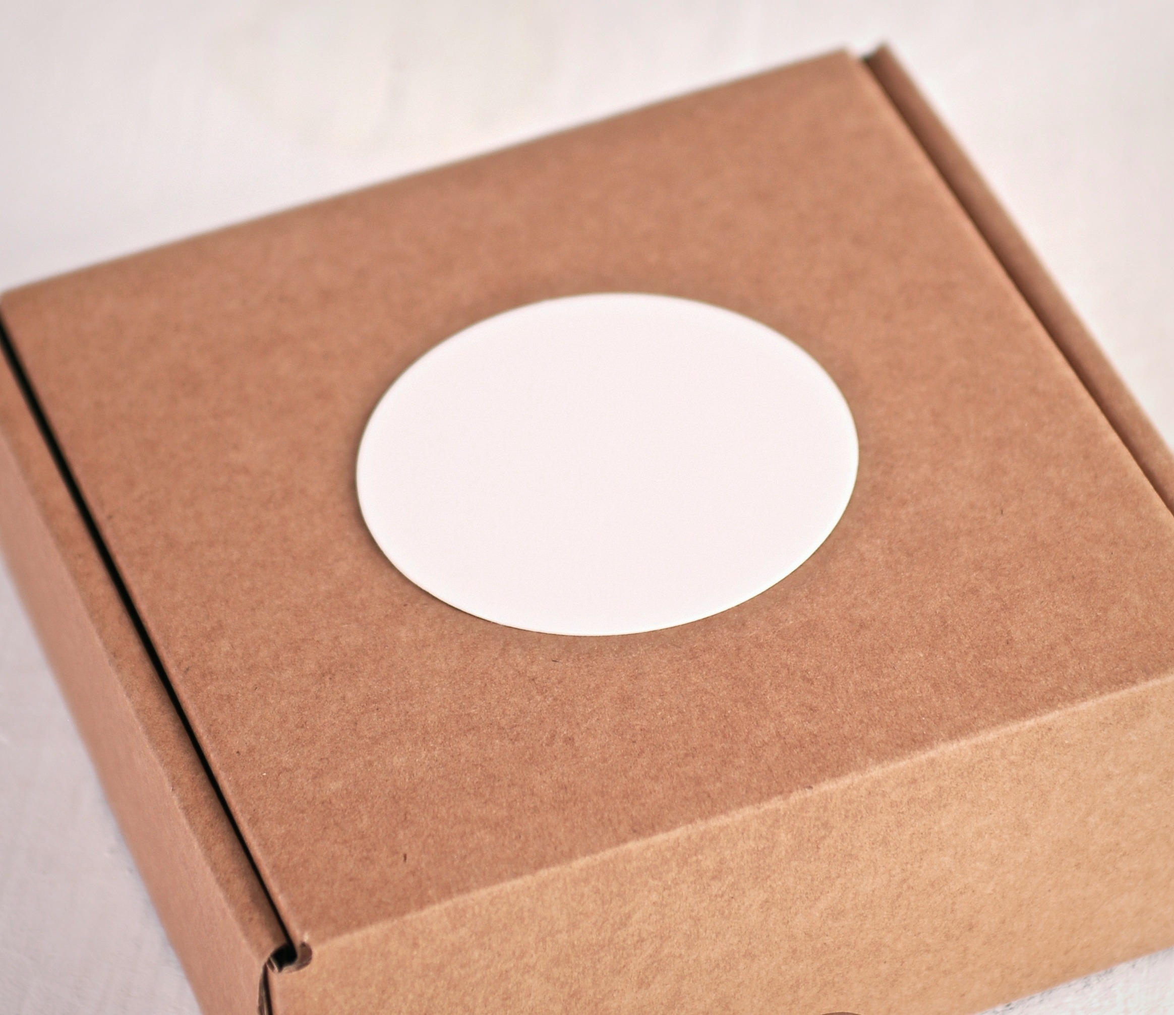 Pegatinas Personalizadas Redondas Selfpackaging
