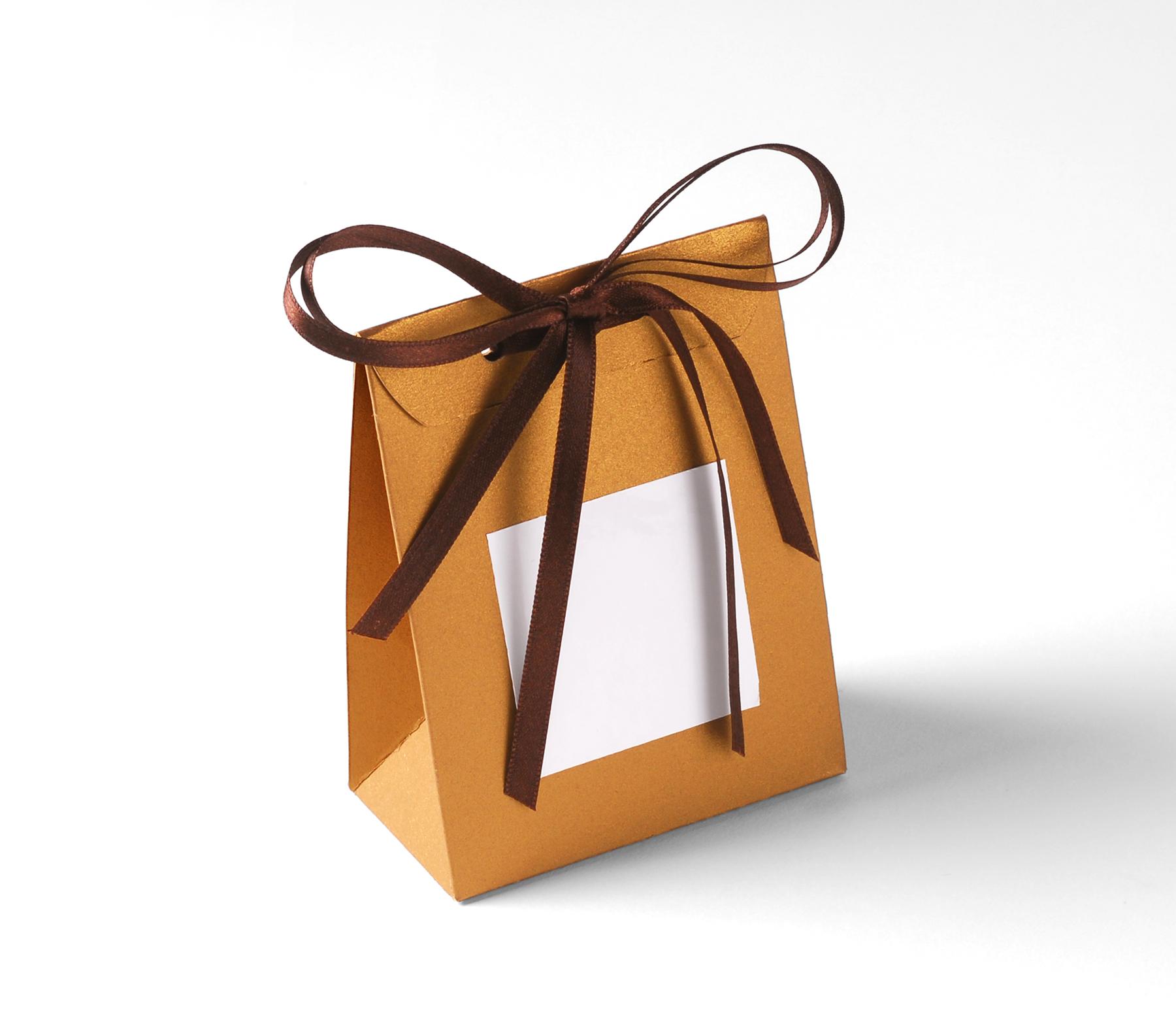 Bolsita para Regalos de Cartón, Bombones y Caramelos
