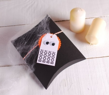 Cajita pequeña decorada para Halloween