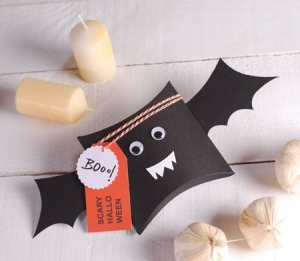 Cajita vampiro para Halloween