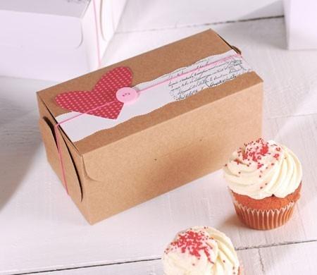 decorazione per scatole da cupcake selfpackaging