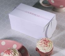 Geschlossene Cupcake-Box