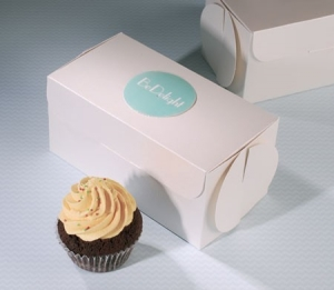 Little box for cupcake shops
