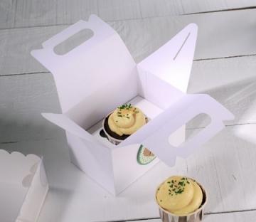 Caja de picnic para un cupcake