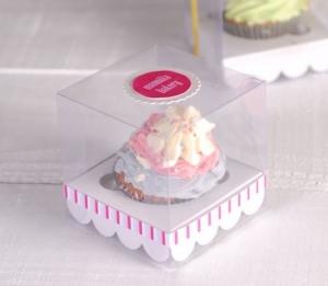 Cajita de cupcake para bodas