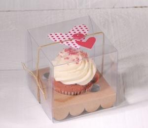 Scatola per una cupcake di nozze