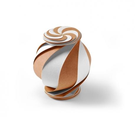 Scatola regalo a forma di spirale