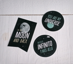 "Decorative stickers ""Universe"""