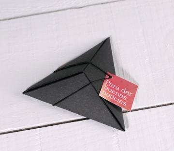 Original triangular gift box
