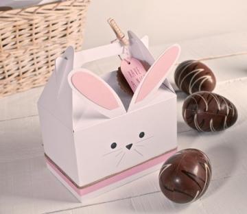 Caja para hacer un conejo de cartón