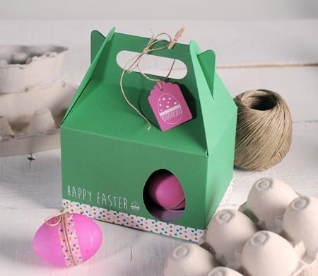 Picknick-Schachtel für Ostereier