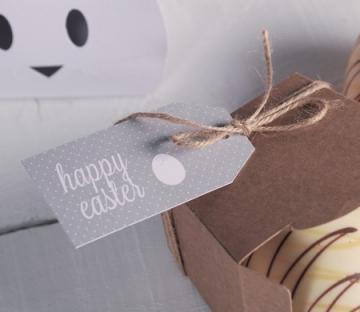 Scatolina per uova di Pasqua