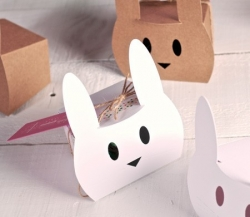 Box for decorated Easter eggs