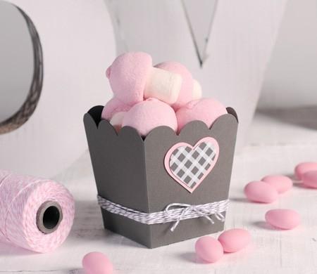 Popcorn-Schachtel für Candy Bars