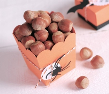 Caja de palomitas para Halloween