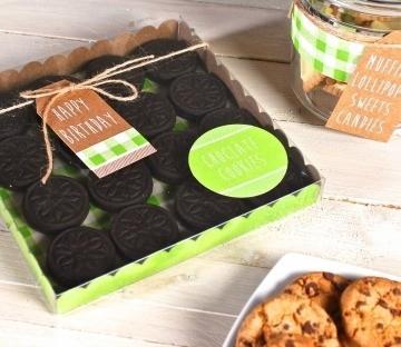 Caja cuadrada para cookies