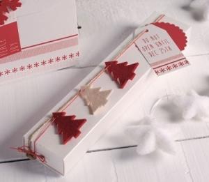 Caja alargada para Navidad