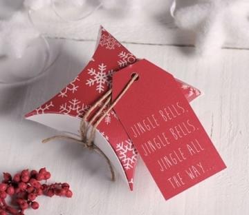 Scatola regalo per Natale
