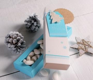 Caja impresa para Navidad