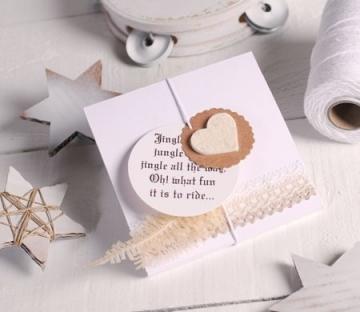 Scatola regalo piatta per foulard