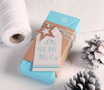 Caja de regalo árbol de Navidad