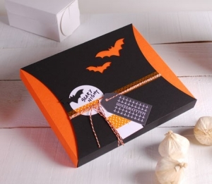 Caja con faja para Halloween