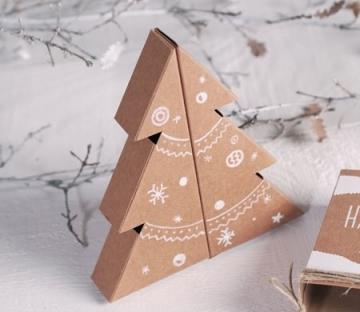 Caja navideña personalizable