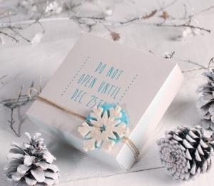 Scatolina personalizzabile per biscotti decorati