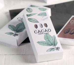 Scatola rettangolare stampata per bonbon