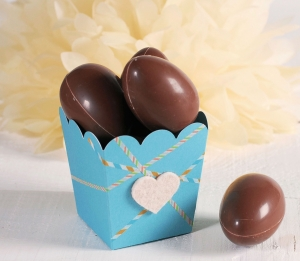 Chocolate egg box