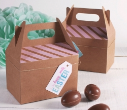 Picninc box decorated for Easter