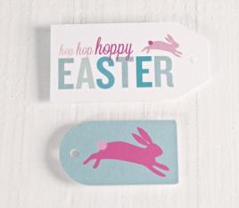 Etiquetas Impresas Pascua