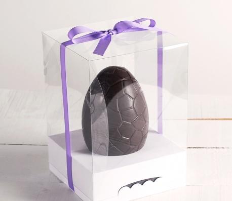 Caja con cinta para huevos de Pascua