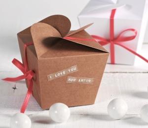 Originale scatola regalo per San Valentino