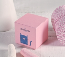 Square box for beauty creams