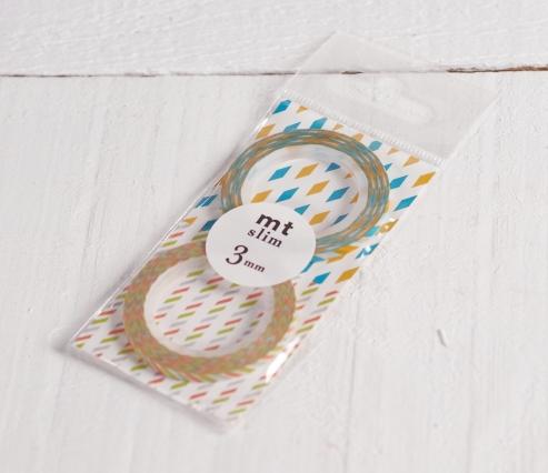 Washi tape Slim 3mm
