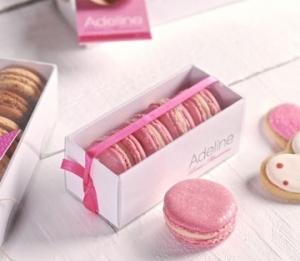 Kleine Schachtel für Macarons
