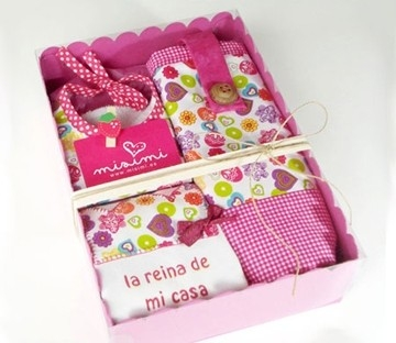 Box for children clothes