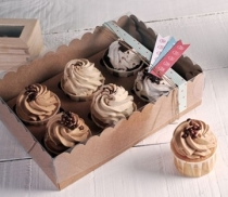 Box for 6 cupcakes