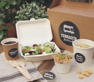 Kit take away para comidas