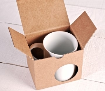 Gift box for mugs