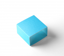 Schachtel für einen Macaron