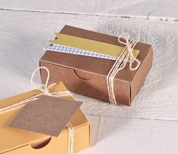 Small box in kraft