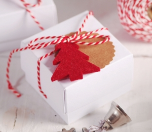 Cajita regalo joyas para Navidad