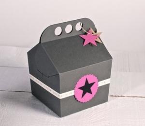 Caja feliz para regalo