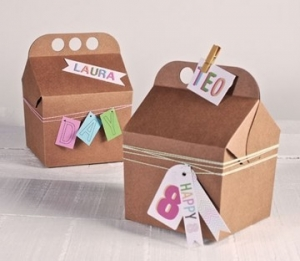 Little box for children parties